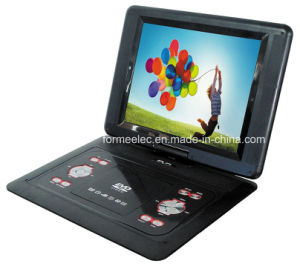 "14.1"" Player Portable DVD with TV Game FM Radio pictures & photos"