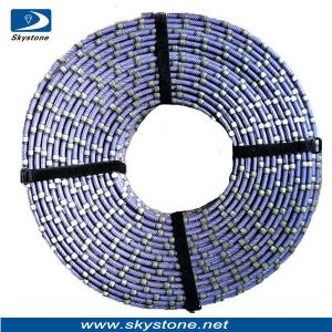 Precision Diamond Wire Saw for Granite Cuttting pictures & photos