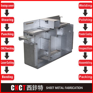 High Quality Sheet Metal Enclosure Fabrication pictures & photos