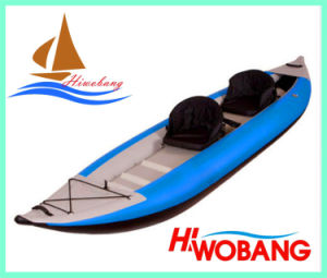 2 Person Chinese Fishing Kayak with Paddles for Sale pictures & photos