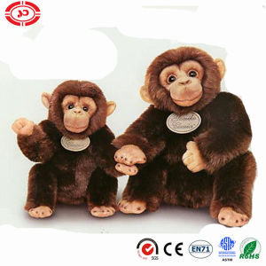 Plush Simulation Quality Sitting Gorilla Soft Stuffed Monkey Toy pictures & photos