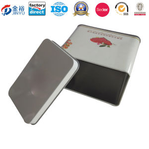 Rectangle Shaped Metal Tin for Coffee Packaging pictures & photos