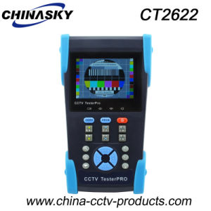 3.5 Inch CCTV Camera PTZ Control Poe Tester Monitor (CT2622) pictures & photos
