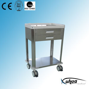 Stainless Steel Mobile Hospital Treatment Cart/Trolley (P-27) pictures & photos
