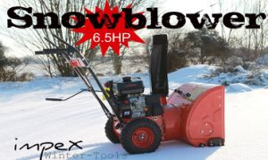 6.5HP 196cc Recoil Start Snow Thrower pictures & photos