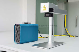 New Design and Automatic Mini Laser Engraver/Small Fiber Laser Marking Machine pictures & photos