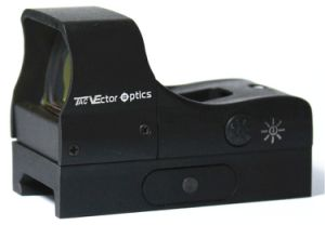 Vector Optics Predator 1X28X20 Tactical Reflex Open Red DOT Hunting Sight 2.4 Inch Length Nice Streamline pictures & photos