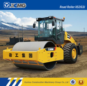 XCMG Official Manufacturer Xs263j 26ton Single Drum Road Roller/Compactor pictures & photos