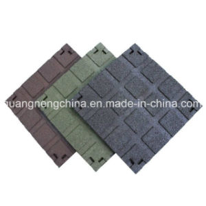 Recycle Rubber Tile/Rubber Floor Tile/Gym Rubber Tile pictures & photos