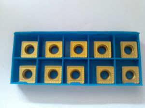 Carbide Indexable Insert with Advanced CVD Coating