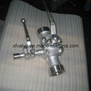 Stainless Steel Three-Way Thread NPT Plug Valve pictures & photos