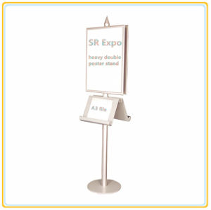Store Advertising Brochure Holder/Poster Display Stand pictures & photos