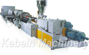 PVC Plastic Pipe Extruding Machine / PVC Pipe Extrusion Plant pictures & photos