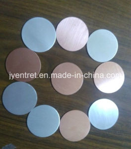 Round Sputtering Target Copper and Aluminum pictures & photos