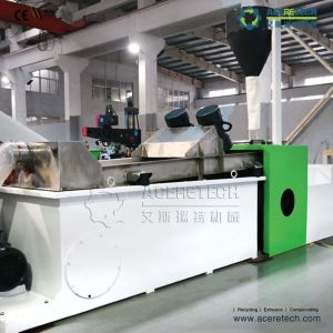PLC Control Single Screw Extruder Recycling Granulating Machine pictures & photos