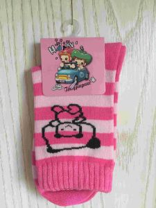 Quarter Cotton Cartoon Large Size Baby Socks (JMBABY-L) pictures & photos