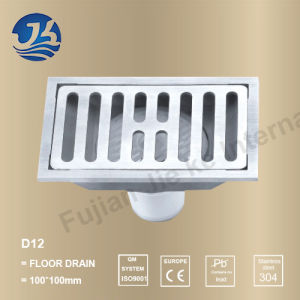 Stainless Steel Bathroom Hardware Floor Drain (D12)