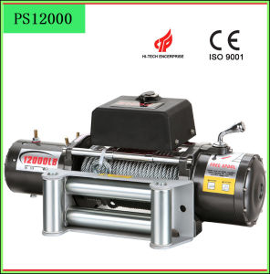 12000lbs Car Winch with Wire Rope pictures & photos