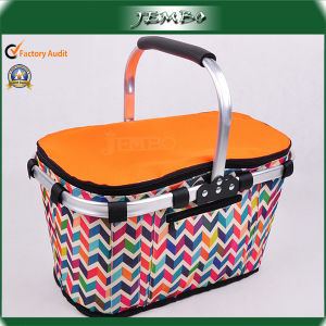 Aluminum Pipe Handle Zipper Quality Insulated Cool Bags pictures & photos