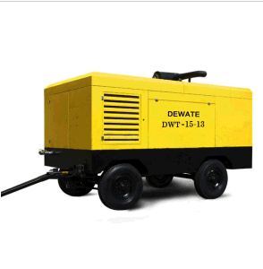 Portable Diesel Screw Air Compressor Used in Highway (DWT-15/13) Ce CCC pictures & photos