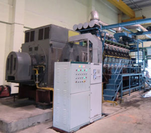 Internal Combustion Diesel Engine Generator 2MW Parallel 500 MW Power Plant pictures & photos