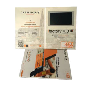 5inch LCD Digital Video Greeting Card pictures & photos
