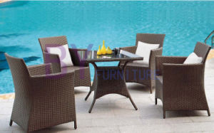 Wholesale Coffee House Outdoor Patio Garden PE Rattan Furniture pictures & photos