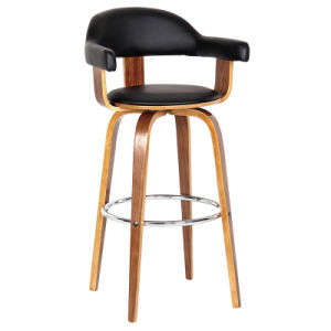 Good Quality Wooden Banquet Party Bar Chair with Arm (FS-WB1706) pictures & photos