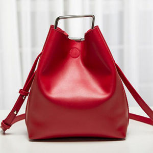 High Quality Designer Women Bucket Bag with Square Shaped Hardware Emg4724 pictures & photos