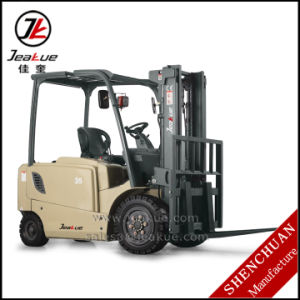 Hot-Selling 3t-3.5t Four Wheels Electric Forklift Truck pictures & photos