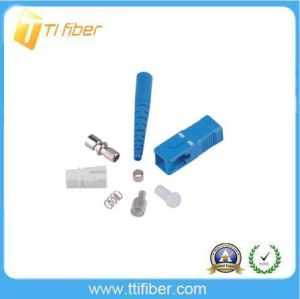 Low Price Sc/Upc Simplex Fiber Optic Connector pictures & photos