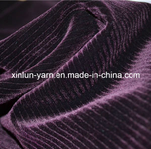 100%Polyester Spraying Flocking Knitted Fabric for Sofa Set Designs pictures & photos