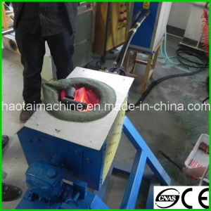 Portable Cast Iron Melting Furnace IGBT pictures & photos
