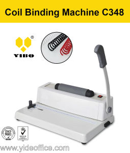 A4 Size Mini Electrical Coil Binding Machine (C348) pictures & photos