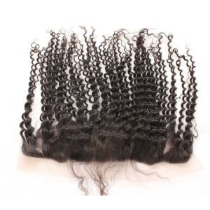 Top Quality Remy Human Hair Lace Frontal pictures & photos