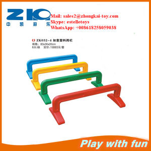 Indoor Playground Funny Plastic Hurdles for Children pictures & photos