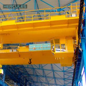 Bridge Travelling 17t Hydraulic Grab Garbage Crane pictures & photos