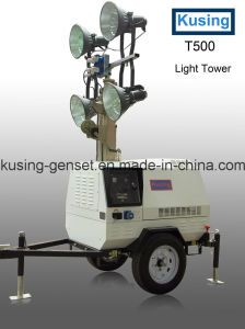 T500 Series Mobile Light Tower Generator Set/Diesel Generator Set/Diesel Generating Set/Genset/Diesel Genset pictures & photos