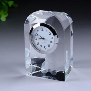 Exquisite Glass Clock Handcraft Crystal Globe Clock pictures & photos