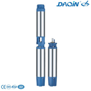 6inch Stainless Steel Submersible Deep Well Pump (6SR10/10 5.5KW) pictures & photos