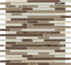 8mm Glass Mosaic Tile, Wall Mosaic for Bathroom Kitchen pictures & photos
