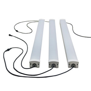 Free Cable Connected 40W 4FT 1200mm LED Triproof Tube Light with IP65 Waterproof pictures & photos