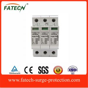 Solar PV Application DC Electronical Lightning Surge Arrester SPD Made in China pictures & photos