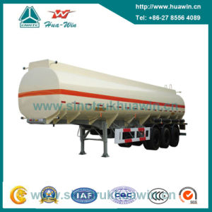 60 Ton 3 Axle Fuel Tank Semi Trailer with BPW Axle pictures & photos