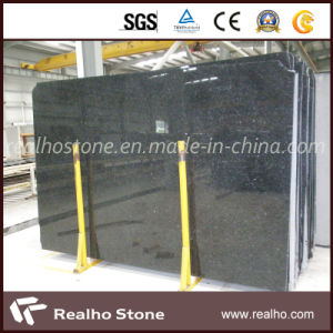 Natural Pure Labrador Black Granite Slab for Bathroom/Kitchen pictures & photos