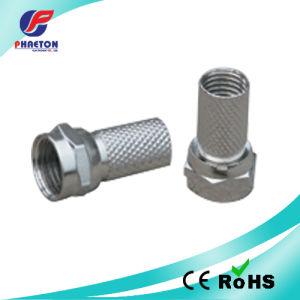 RG6 Coaxial Connector Zinc pH5387 pictures & photos