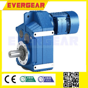 F Series Parallel Shaft Speed Reducer Gear Box Motor for Conveyor pictures & photos