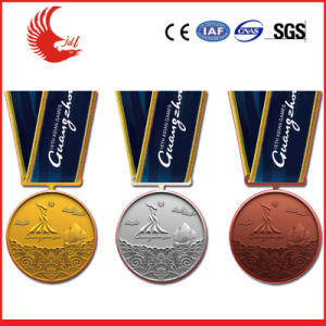 Promotional Custom Metal Gold/Silver/Bronze Sports Medal pictures & photos