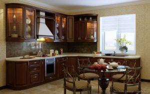 Golden Brown Kitchen Cabinet (GB14) pictures & photos