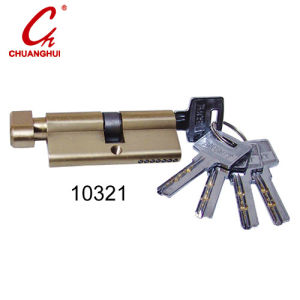 Furniture Hardware One Side Open Brass Lock Cylinder pictures & photos